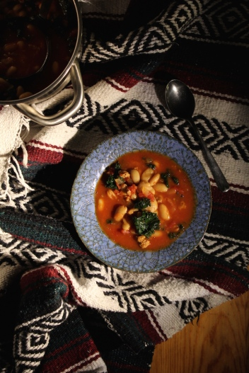 Spicy-Sausage:Kale Stew-1